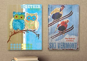 Rustic Refinement: Bamboo & Reclaimed Wooden Signs