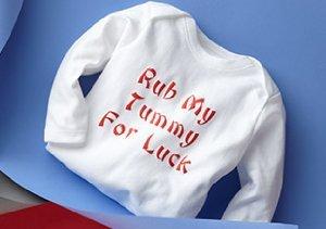 Baby Bodysuits from Haute Stuff