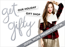 Get Gifty Our Holiday Gift Shop