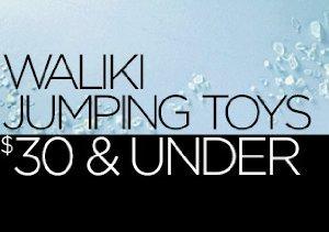 Waliki Jumping Toys: $30 & Under