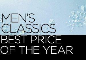 Men's Classics: Best Price of the Year