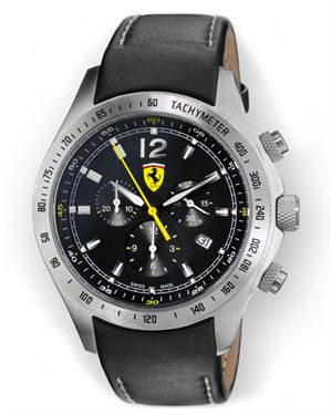 Scuderia Ferrari Chronograph Watch Made In Switzerland