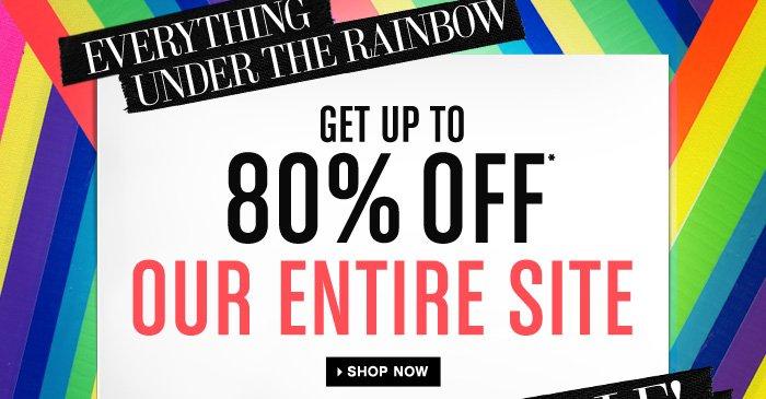 Rainbow Sale!