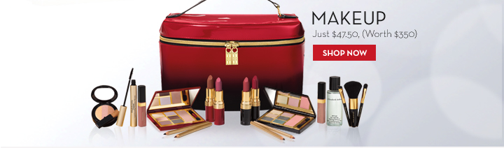 MAKEUP. Just $47.50, (Worth $350). SHOP NOW.