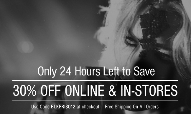 24 Hours Left to Save 30%!
