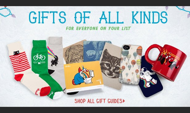 Under $10, Today Only. Gifts to fill up stockings both tiny and large. Shop other stuff.