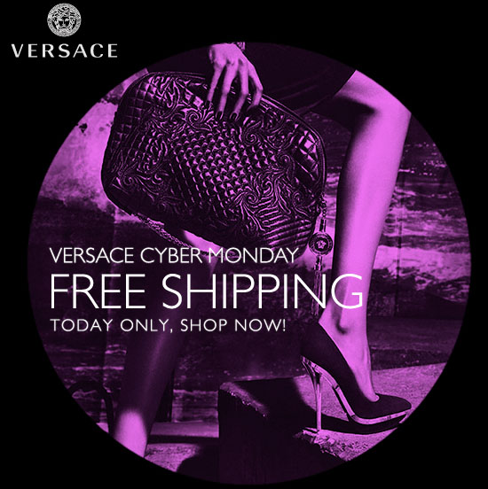 Versace Online Store. Free Shipping