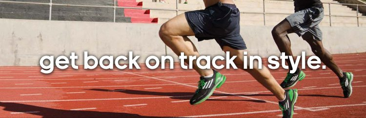 get back  on track in style.