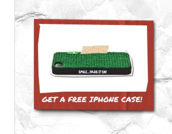 Get A Free IPhone Case!