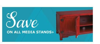 Save on all media stands