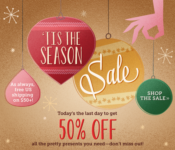Shop Tis the Season Sale