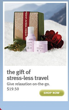 the gift of stress-less travel. shop now