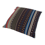 Paul Smith For Maharam - Black And Cobalt Point Cushion