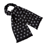 Paul Smith Scarves - Black Geometric Spots Scarf
