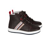 Paul Smith Junior - Boys' Chocolate Brown Rabbit Trainers