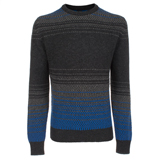 Paul Smith Knitwear - Campaign For Wool Grey Contrast Stitch Jumper