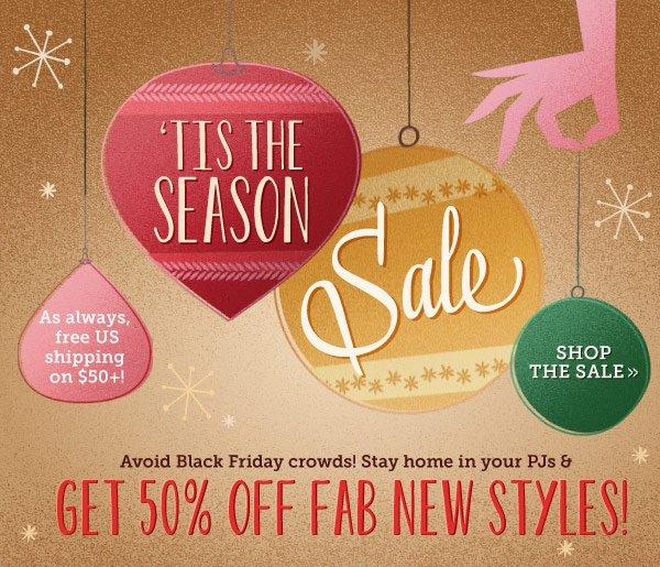 Shop Tis the Season Sale