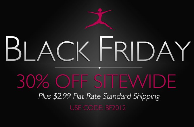Black Friday Weekend: Use Code BF2012