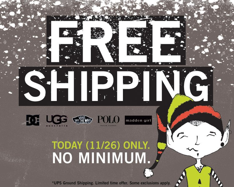 FREE SHIPPING SITE WIDE - Today Only!