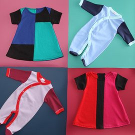Color Block: Infant & Toddler Apparel