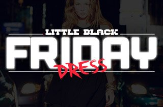 Little Black (Friday) Dress