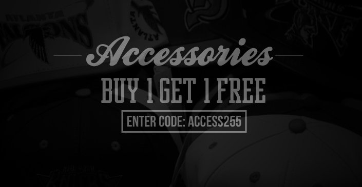Accessories: Buy 1, Get 1 Free