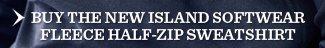 Buy The New Island Softwear Fleece Half-Zip Sweatshirt