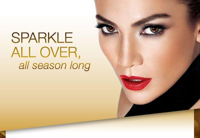 SPARKLE ALL OVER, all season long