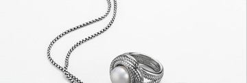 Modern Pearls When lustrous curves play against twists of cable and facets of diamonds, the timeless pearl achieves a new modernity.  Behold, a gift that is classic yet surprising. Shop Pearls