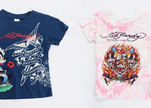 Ed Hardy, Smet & Popeye Kid's Apparel & Accessories