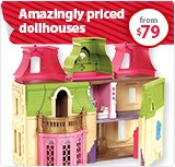 Amazingly priced doll houses