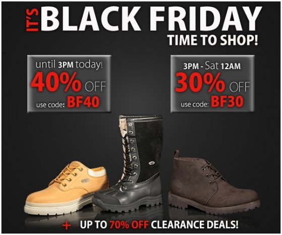 It's Black Friday - Get 40% off PLUS up to 70% OFF Clearance
