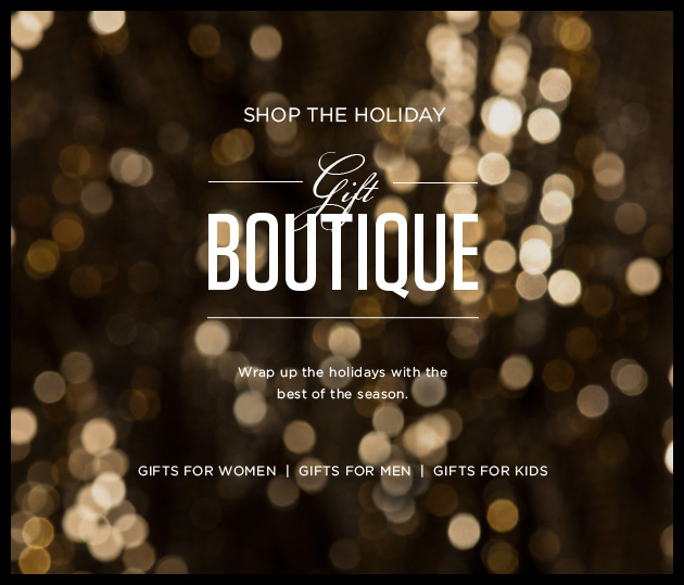 Shop the holiday - Gift boutique