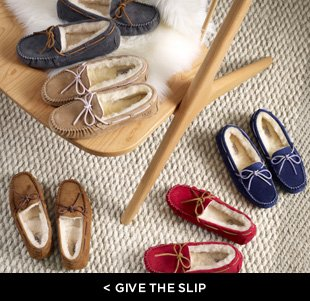 give the slip