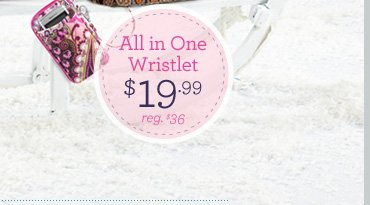 All in One Wristlet - $19.99