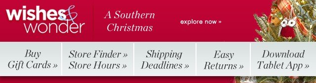 Wishes and Wonder. A Southern Christmas. Explore now.