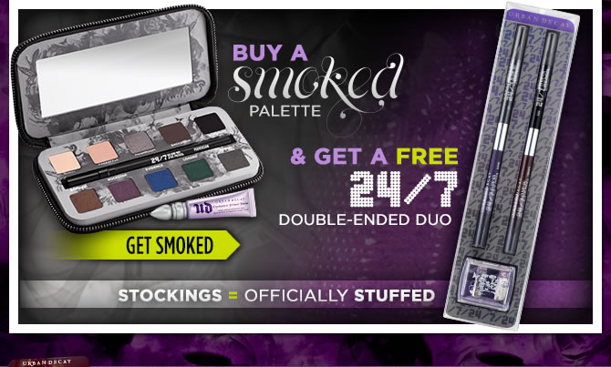 Buy A Smoked Palette & Get A Free 24/7 Double-Ended Duo