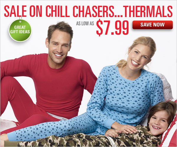 Thermals as low as $7.99