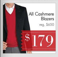 Cashmere Blazers - $179 USD