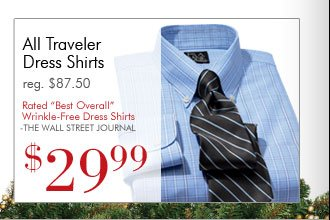 Traveler Dress Shirts - $29.99 USD