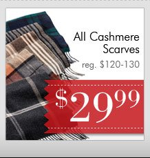 Cashmere Scarves - $29.99 USD