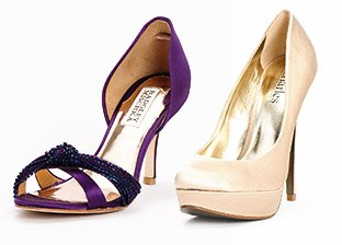 Luxe Party Shoes from Red Valentino, Badgley Mischka, Charles David