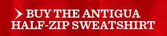 Buy The Antigua Half-Zip Sweatshirt