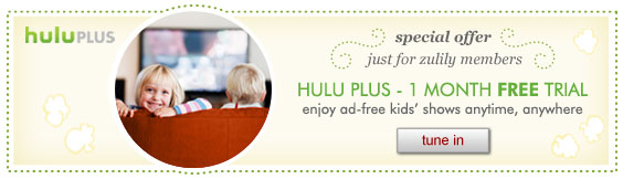 Hulu Plus - 1 month free trial