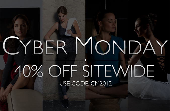 Cyber Monday: Use Code CM2012