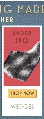 Under $90 - Wedges