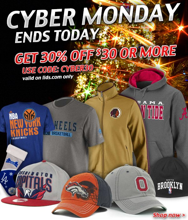 Don't Miss Out -- Get 30% Off $30 Ends Today!