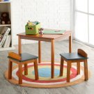 Square Table & 2 Stools