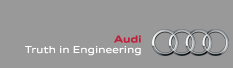 Audi - Truth in Engineering
