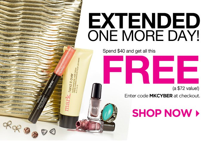 EXTENDED One More Day! Spend $40 and get all this FREE!